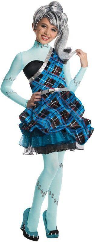Monster High - Frankie Stein Sweet 1600 Fancy Dress Halloween Deluxe Child Costume