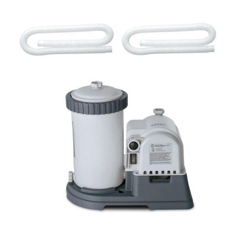 """Intex 1.25/"""" Diameter Pool Pump Replacement Hose 59/"""" 2 Pack 2500 GPH  Pool Pump"""