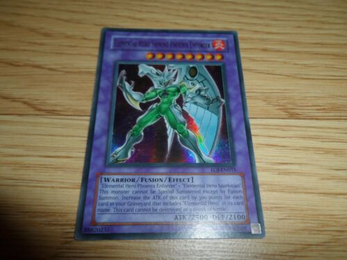 YUGIOH ELEMENTAL HERO ULTRA RARE SINGLES 1ST EDITION OR UNLIMITED YOU PICK