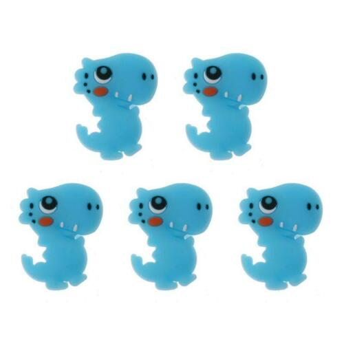 5pcs DIY Silicone Beads Baby Teething Chews Nurse Gift Toys For Necklace Teether