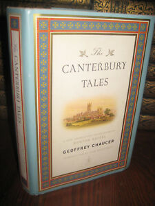 1st-Edition-CANTERBURY-TALES-Geoffrey-Chaucer-MODERN-LIBRARY-Classic-FIRST-PRINT