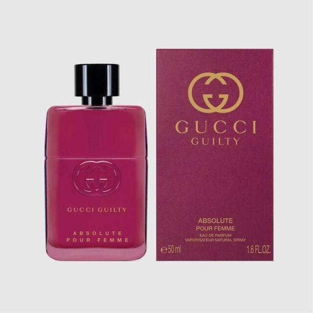 Gucci GUILTY ABSOLUTE Pour Femme 50ml Eau De Parfum EDP NEUF & SCELLE