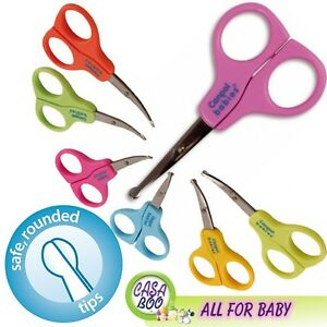 Baby-Scissors-NEW-many-colors-SAFE-ROUNDED-TIPS