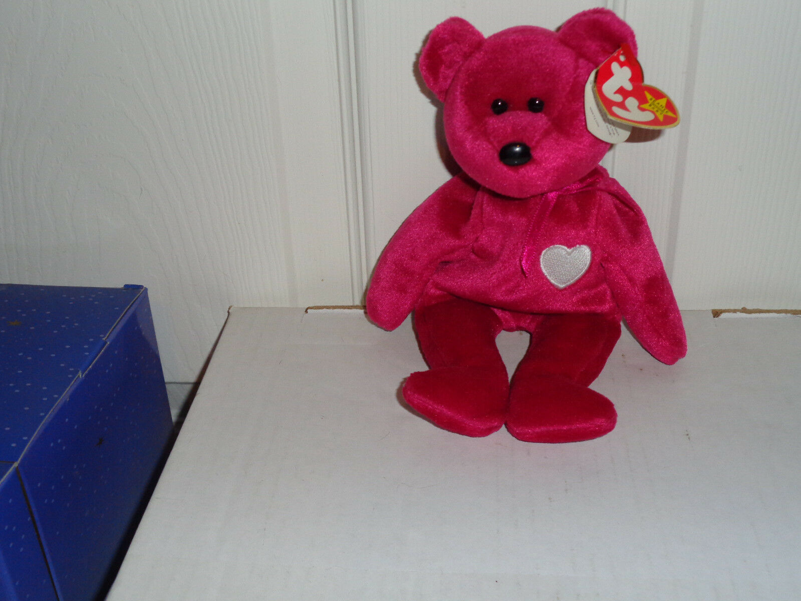 1998 Valentina Beanie Baby with Errors- Very Good Condition
