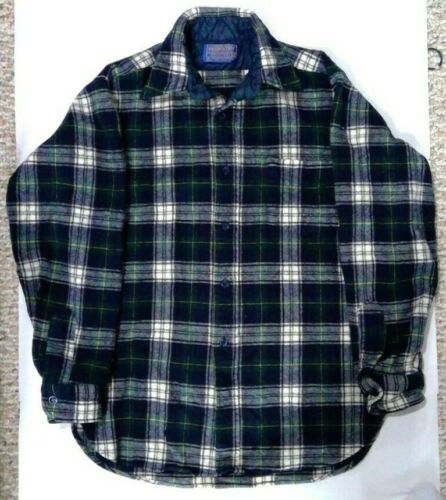 Pendleton Men's 100% Wool Flannel Shirt (Size M)