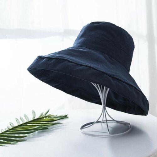 Women Bucket Hat Cap Sport Fishing Boonie Wide Brim Visor Sun UV Beach Camping