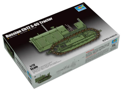 S-65 1:72 Laster LKW Modellbausatz Trumpeter 9367112 Kettentraktor Stalinez-65