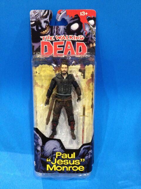"PAUL ""JESUS"" MONROE - McFarlane AMC Walking Dead Action Figure - Comic Series 4"