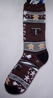 Texas A & M Men's Socks Large Size 10 To 13 Holiday Christmas