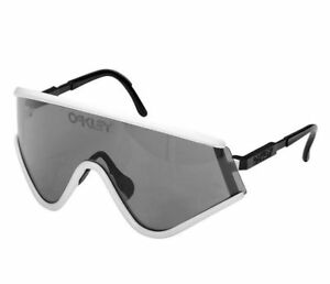 811d68f9181f 100 Authentic Oakley Special Edition Heritage Eyeshade White W Grey ...