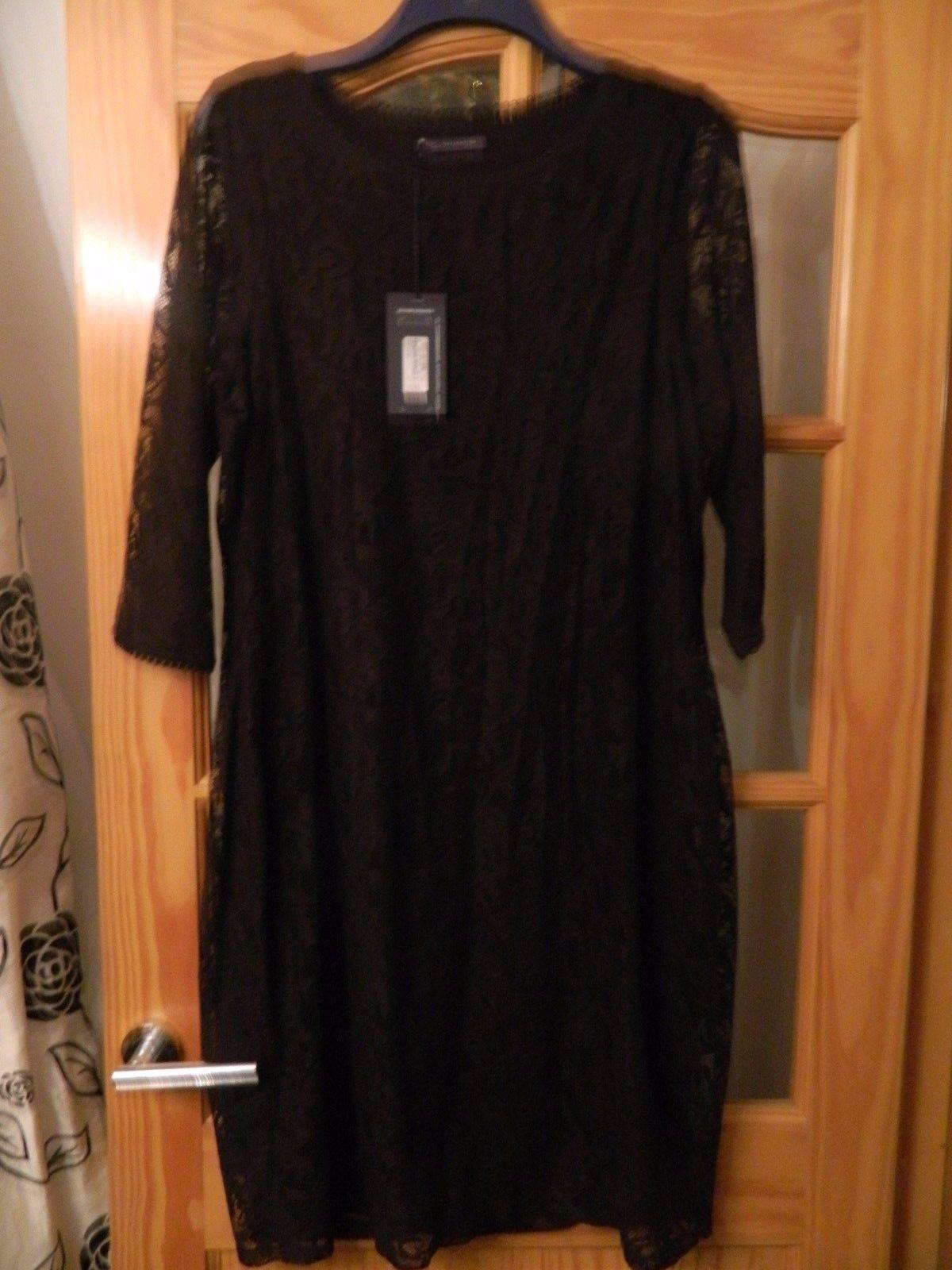 Donna Spencer Marks And Abito Taglia 18 Blu scuro, nuovo con etichette bellissimo abito