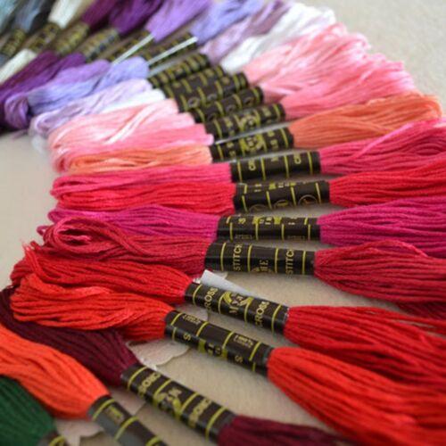 Kreuzstich Baumwollfaden Seide Farben2018 50 Anchor Stickgarn Gewinde Stränge