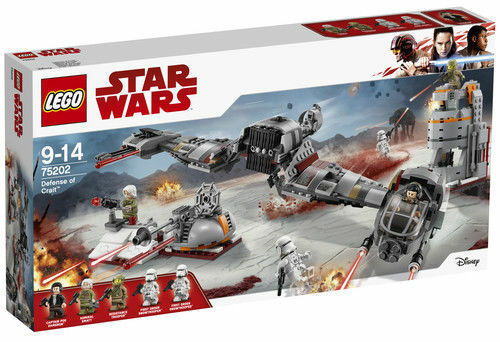 75202 LEGO Star Wars Defense Of Crait Set 746 Pieces Age 9+ New Release For 2018