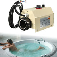 Swimming Pool And Spa Heater Bath Tub Electric Water Heating Thermostat 3kw