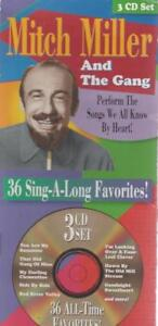 Mitch-Miller-And-The-Gang-36-Sing-Along-Favorites-3-Disc-Set-MUSIC-AUDIO-CD-BOX