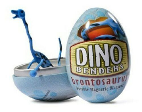NewBrontosaurus Dino Bender Dinosaur Action Figure Toy egg joe prehistoric tin