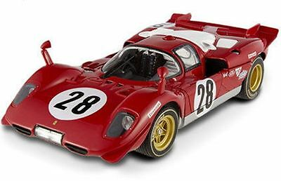 MATTEL  ELITE N2047 FERRARI 512S model race car J Ickx Daytona  N.A.R.T. 1:18th