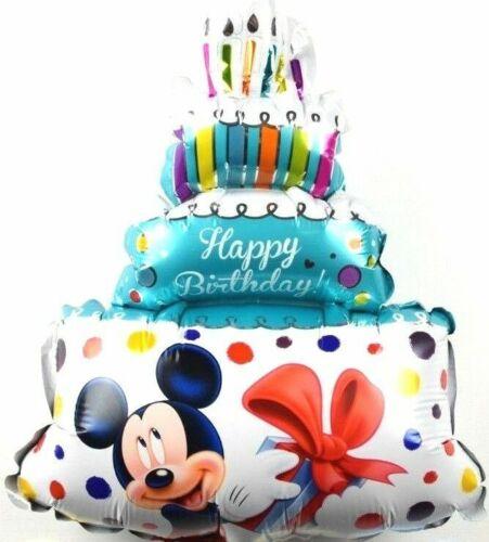 Kein Helium Ballon Luftballons Disney Micky Maus Minnie Geburtstags Torte