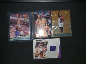 Shaquille o'neal Patch Rookie Lot X4 Bulk Buy Investment 📈📈