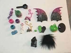 Monster high accessories lot purse cauldron handbag mask outfit masks wings ebay - Masque monster high ...