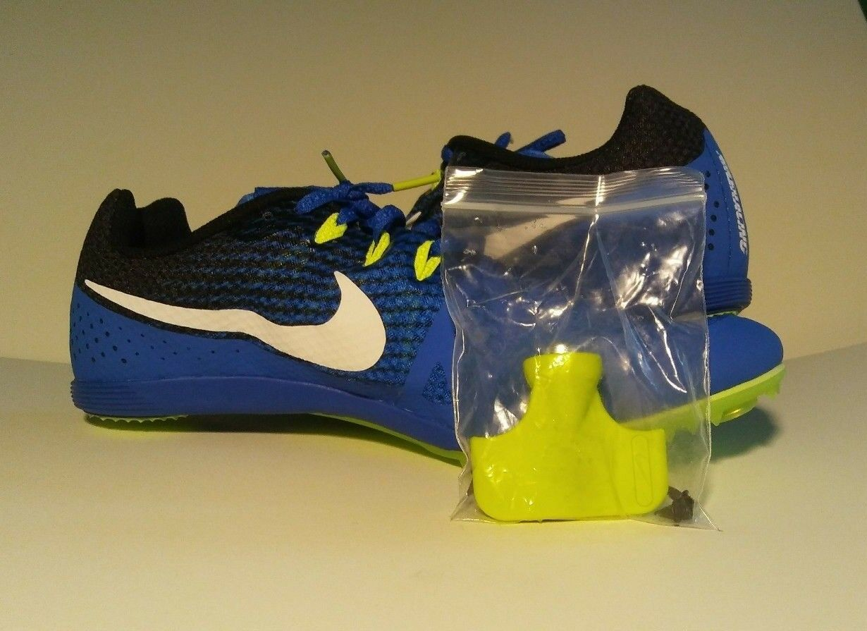 Nike Zoom Rival M 8 Men's Track Field Sprint Spikes Shoes 806555 413 Comfortable Wild casual shoes