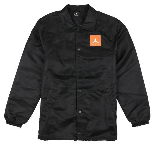 682a0a41419 Jordan Like Mike Gatorade Coaches Jacket Sz 2xl Xx-large Black Orange Retro  for sale online | eBay