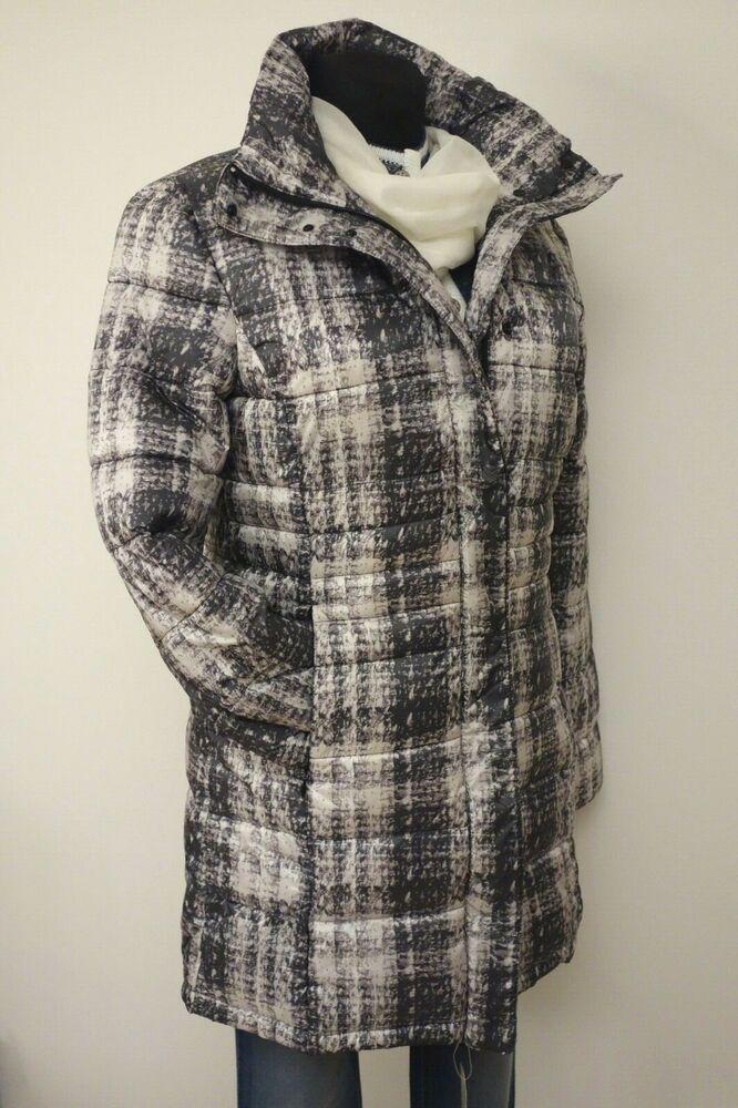 70% De Réduction Veste Manteau Avec Steppung De Boysens Gris Taille 38 40 42 44