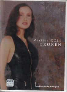 Martina-Cole-Broken-14-Cassette-Audio-Book-Unabridged-Crime-Thriller-FASTPOST