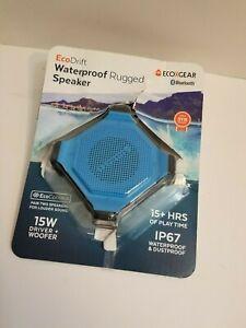 Details about ECOXGEAR EcoDrift IP8 Rugged Waterproof Bluetooth Speaker,  Blue