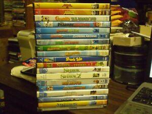 19 Dreamworks Children S Dvd Lot 3 Shrek 2 Kung Fu Panda Shark Tale More Ebay