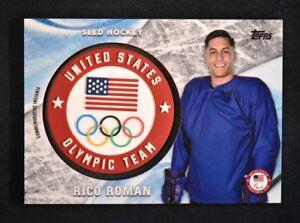 2018 Topps US Winter Olympics Team USA Memorabilia Silver ES Evan Strong //99