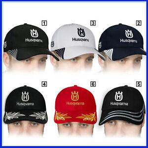 Husqvarna-Casquette-3D-Brode-Logo-Baseball-Cap-Homme-Chapeau-Tronconneuse