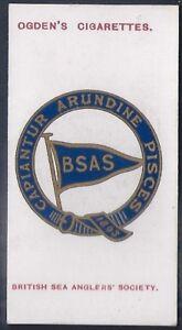 OGDENS-CLUB BADGES-#08 BRITISH SEA ANGLERS SOCIETY