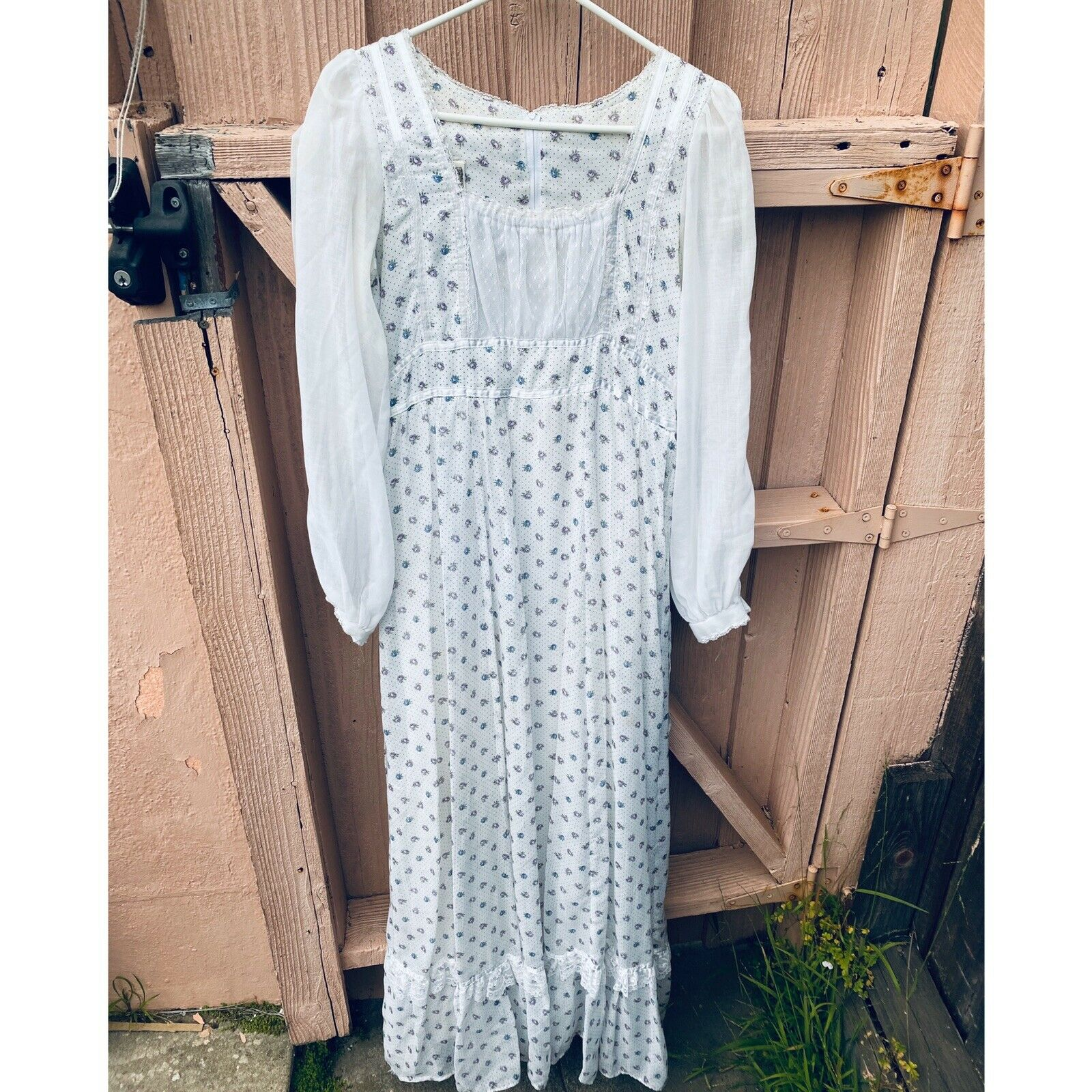 1970's Gunne Sax Prairie Cottage Core Dress - image 1