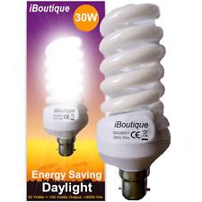 iBoutique® 30W Bayonet (B22) Daylight Energy Saving Light Bulb Equivalent O