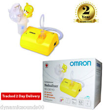 Omron NE-C801S-KDE Childs Kids Nebuliser Compressor Respiratory Medicine Inhaler