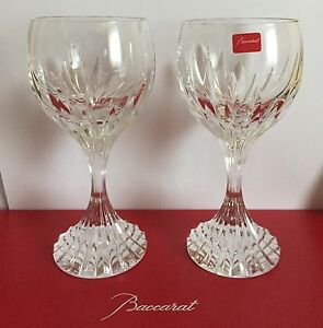coffret-de-2-verres-a-vin-Baccarat-en-Cristal-du-service-Massena