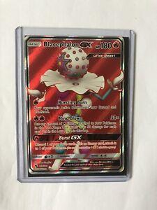 Blacephalon-GX-Full-Art-Pokemon-Card-199-214-Lost-Thunder-Near-Mint-Minus-NM