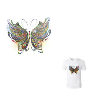 Butterfly-Patches-Heat-Print-On-T-shirt-Jeans-Iron-On-Patches-For-Clot-ti