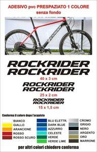 KIT-Adesivi-Rockrider-Bici-Alta-qualita-sticker-decals-Bike-logo-mountainbike