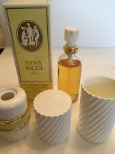 Vintage L'Air du Temps Nina Ricci 1.7oz EDT Refillable Spray w/Box FULL Perfume