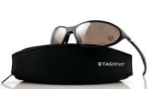 NEW TAG Heuer SPORT VISION Physics Noir Brilliant Sunglasses TH 6004 604 115/130