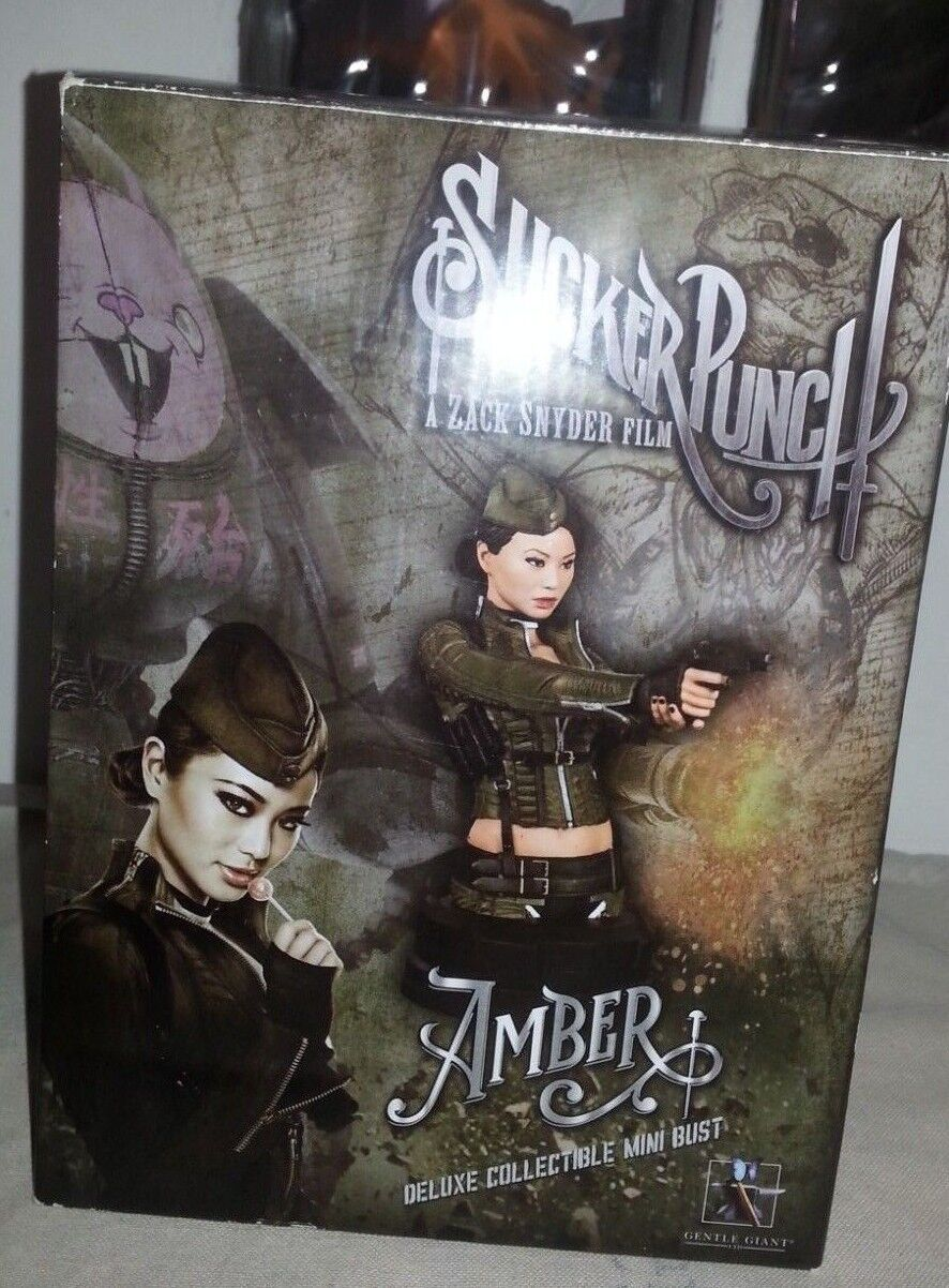 SUCKER PUNCH - Amber Mini-Bust DELUXE COLLECTIBLE 453 700 Zack Snyder Film - AF1