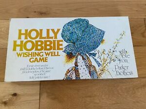 Holly-HOBBIE-Wishing-Well-Board-Game-Retro-Palitoy-Parker-Brothers-1976-COMPLETO