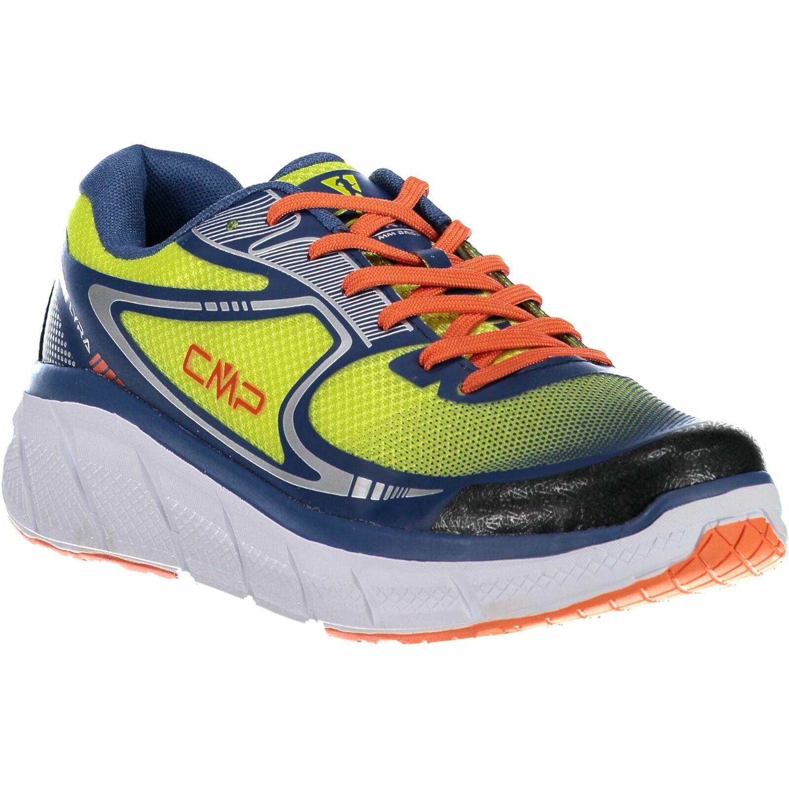 CMP zapatillas calzado deportivo Lyra maxi running zapatos verde claro monocromo Mesh