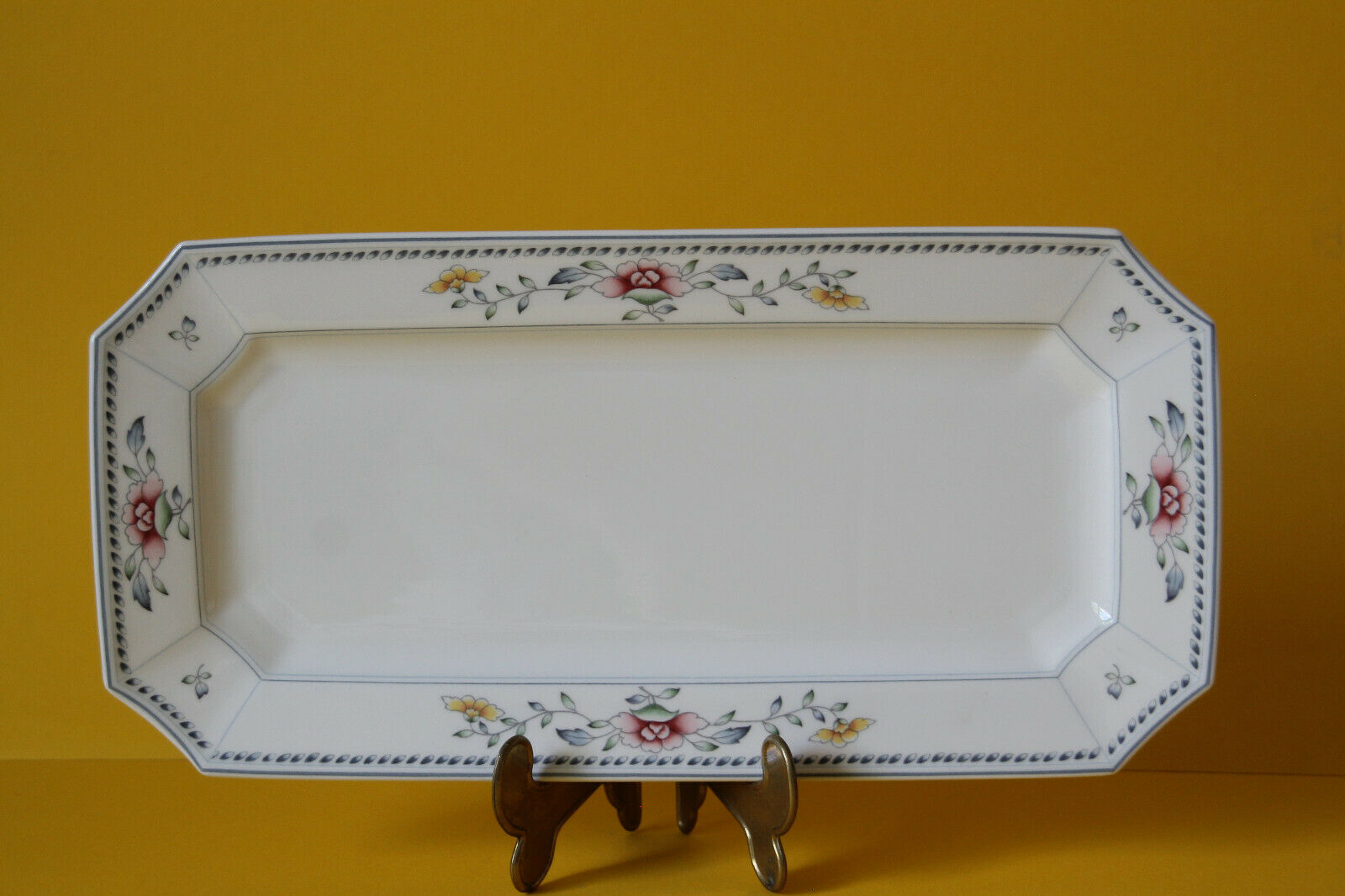 Villeroy und Boch Nanking Kuchenplatte Königskuchenplatte Platte 32 x 16 cm