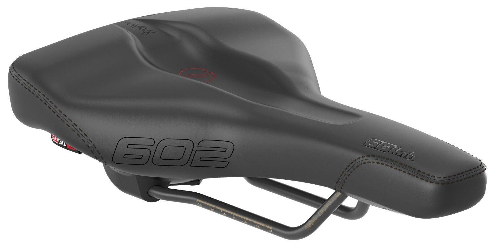 SQlab Sattel 602 ERGOLUX® ACTIVE Trekking Touren E-Bike ergonomisch 16cm NEU&OVP