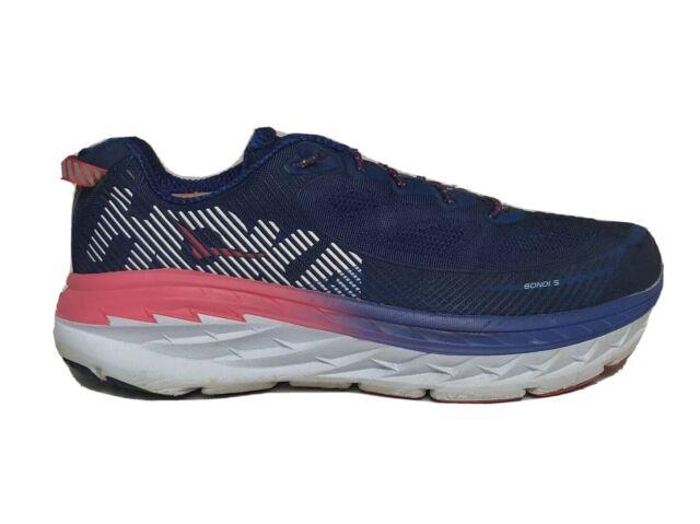 Hoka One One Bondi 5 Womens Size 5  Aquifer Vintage Indigo Running Shoes NEW!