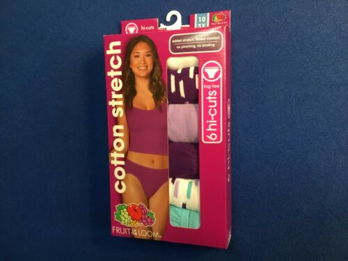 Women/'s underwear Fruit of the Loom Beyond Soft or Cotton Stretch various 6 pk