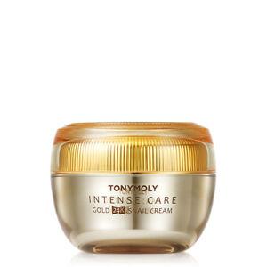 TONYMOLY-Intense-Care-Gold-24K-Snail-Cream-1-5oz-Anti-Ageing-Whitening-Skin-Tone